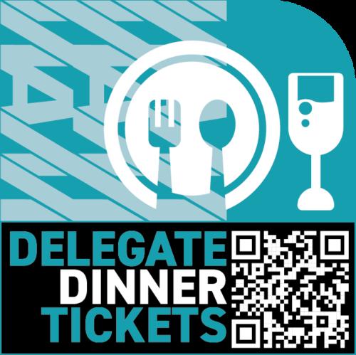 AM Event delegate dinner ticket